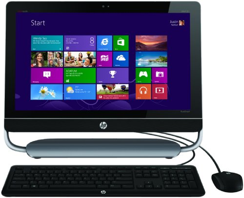 HP ENVY 23-d135ea TouchSmart All-in-One Desktop PC (Intel Core i3-3220 3GHz Processor, 6GB RAM, 2TB HDD, Windows 8)
