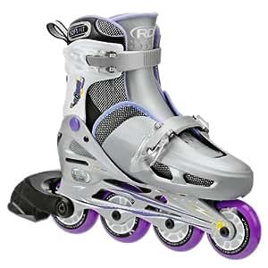 Roller Derby Girls Cobra Adjustable Inline Skate, Small