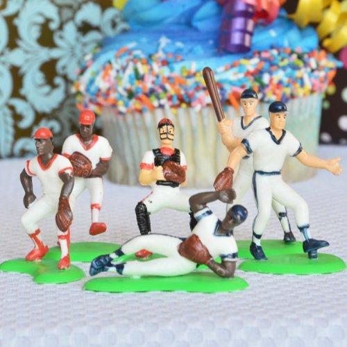 Baseball Team Cake Topper (6 Players)
