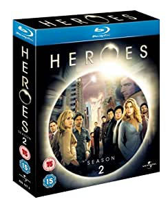 Heroes - Season 2 [Blu-ray] [UK Import]