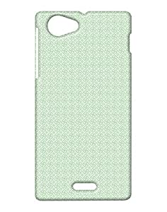 Pickpattern Back Cover for Sony STS6i