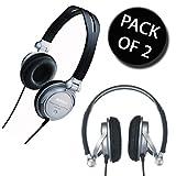 2x Sony MDR-V300 Foldable Monitoring DJ Headphones
