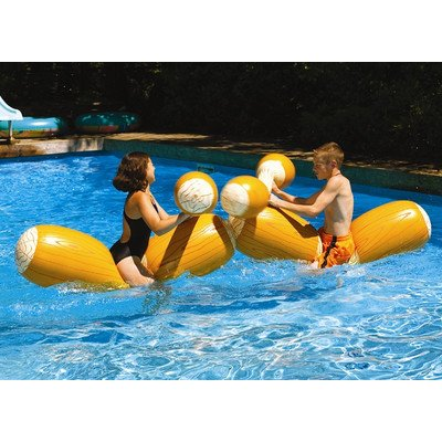 Log Flume Joust Pool Toy (Set Of 2) Quantity: 2 Pack front-1012031