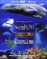 Jean-Michel Cousteau 3d Film Trilogy [Blu-ray] by Ais