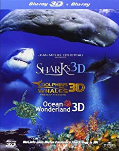 Jean-Michel Cousteau 3d Film Trilogy [Blu-ray] from Ais