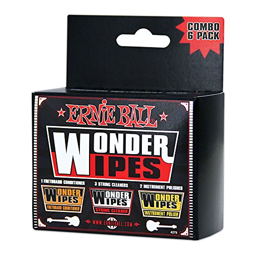 ernie-ball-wonder-wipes-combo-pack-3-string-cleaners-2-polishes-1-fretboard-conditioner