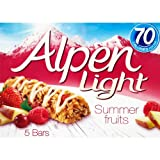 Alpen Light Summer Fruits 5 X 21G
