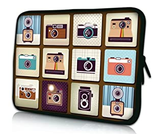 """Cameras Universal 11.6"""" 12"""" 12.1"""" inch Neoprene Tablet Laptop Soft Sleeve Bag Cover Case for 11.6"""" Acer C7 Chromebook Netbook,Dell alienware m11x,MacBook Air PC,12.1"""" SAMSUNG Series 5 7,Lenovo X201 ASUS VX6 HP x2,ASUS VivoTab Q200E Tablet,12.1"""" Dell Inspiron Mini 12"""