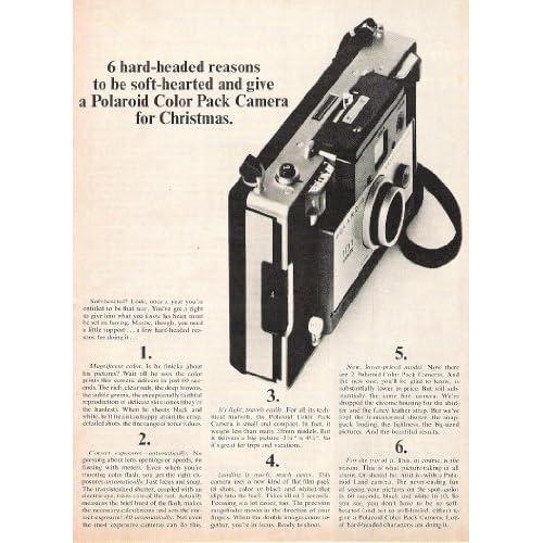 Polaroid Land Camera 1965 Original Christmas Advertisment