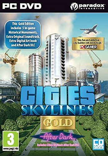Cities Skylines Gold After Dark (PC)