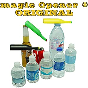 The Original magic Opener - 3 in 1 Bottle Opener - Magnetic, Ergonomic - Twist Off Openers