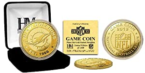 Miami Dolphins Miami Dolphins 2013 Game Coin by Highland Mint