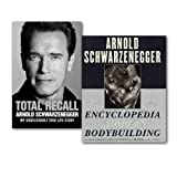 img - for Arnold Schwarzenegger Collection 2 Books Set, (The New Encyclopedia of Modern Bodybuilding & [Hardcover] Total Recall: My Unbelievably True Life Story) book / textbook / text book
