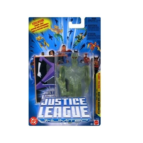 JLA: Justice League Unlimited Martian Manhunter (Planet Patrol) Action Figure - 1