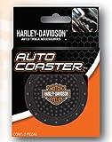Auto Coasters - Harley Davidson Bar & Shield Logo - Pair