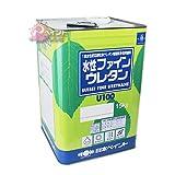 日本ペイント 水性ファインウレタンU100黄・オレンジ系艶有 15kg