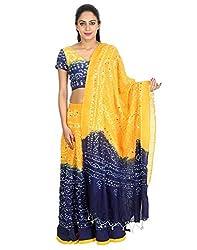 Attire Women Bhandej Tie-Dye Lehenga Choli