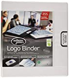 "Custom Imprint Presentation Binder, 1"" Capacity, White"