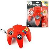 Nintendo N64 Original Shape Classic Controller Brand New (Red)