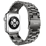Apple Watch Band, HOCO Classic Plated Stainless Steel Strap [Classic Adapter] Buckle IWatch Bands For Apple Watch...