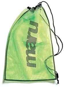 Maru Mesh Swim Bag Lime: Amazon.co.uk: Sports & Outdoors
