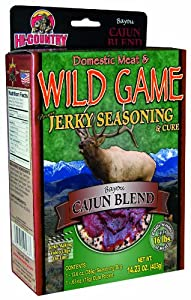 Hi-Country Snack Foods Domestic Meat and WILD GAME 14.23 oz. Cajun Blend Home Jerky... by Hi-Country Snack Foods