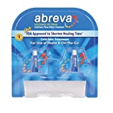 ★2本セット★【口唇ヘルペス治療クリーム】Abreva Cold Sore/Fever Blister Treatment Pump - 0.07 oz (2 g) ?ハワイ直送品?