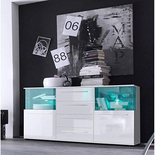 trendteam-PU87301-Sideboard-weiss-Hochglanz-BxHxT-142x82x40-cm