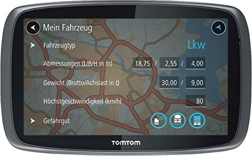 tomtom gps camion trucker 6000 0636926085014 informatique multim dia gps poids lourds. Black Bedroom Furniture Sets. Home Design Ideas