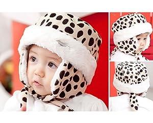 BONAMART ® Winter Lovely Tiger Velvet Baby Infant Boy Girl Warm Beanie Earmuff Hat Cap