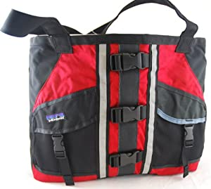 Patagonia Remade Lotus Designs PFD Tote Bag (Red)