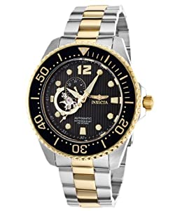 Invicta Men's 15400 Pro Diver Analog Display Japanese Automatic Two Tone Watch
