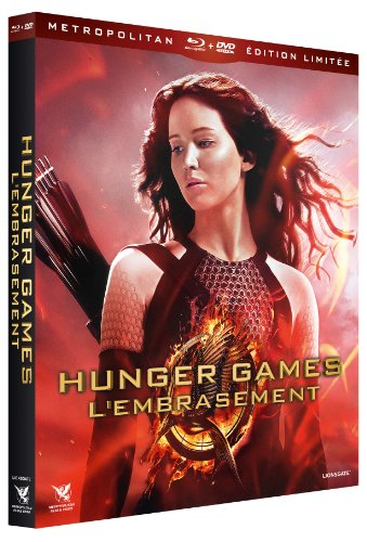 Hunger Games : L'embrasement - Combo 3 Blu-ray + 2 DVD