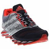 adidas Springblade Drive 2 Shoes - Core Black/Solar Red/Silver Metallic - Mens - 12