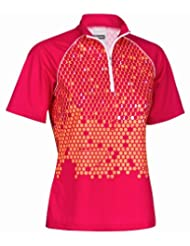 Gonso Tampico 29109-139 Women's High End Cycling Shirt Berry Size 38