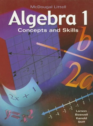 Free Download McDougal Littell Algebra 1 Concepts And