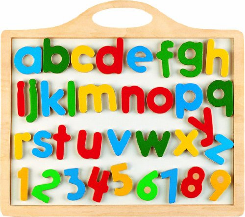 Cheap Puzzled Magnetic Board – Alpah Beth & Numbers (B003LPV8RU)