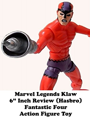 "Marvel Legends KLAW Review 6"" inch action figure toy Fantastic Four on Amazon Prime Video UK"