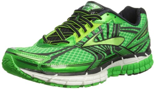Brooks Mens Adrenaline GTS 14 Running Shoes 1101581D313 Speed Green/Jasmine Green/Black 11 UK, 46 EU, 12 US Regular