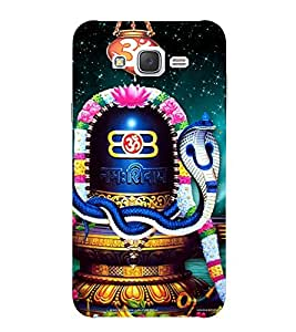 Evaluze LORD SHIVA Printed Back Cover for SAMSUNG GALAXY J7 2015
