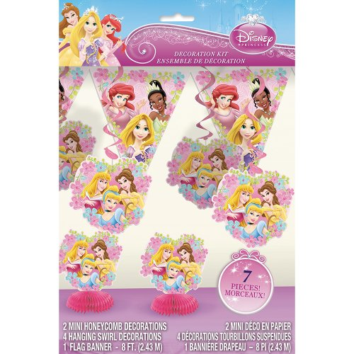 Disney Princess Party Decoration Kit, 7pc