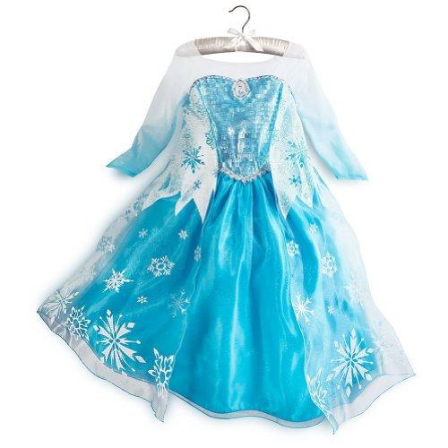 US Disney Store Elsa DX costume Elsa Costume for Girls - Frozen parallel line imports (120 cm ( US5/6 ))