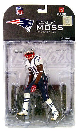 Mcfarlane Toys New England Patriots Randy Moss Figurine