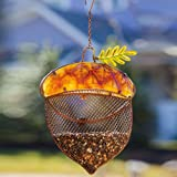 Evergreen Enterprises Harvest Shimmer Acorn Birdfeeder
