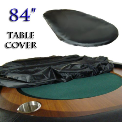 84″ Texas Hold Em Poker Table Top Cover. Keep Your Table Top & Clay Poker Chips Safe.
