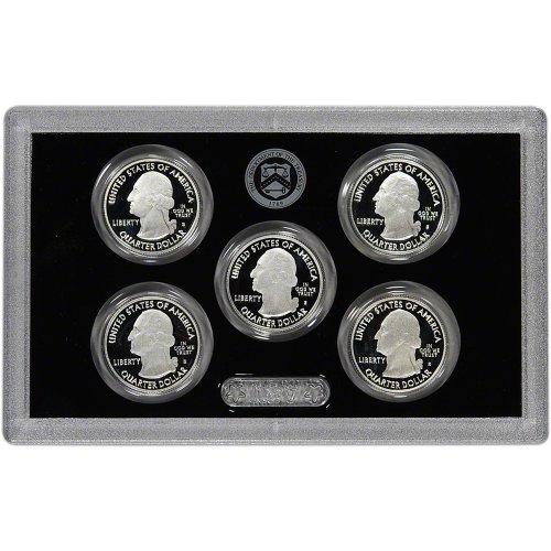 2011-S-US-Mint-Quarters-Silver-Proof-Set-OGP