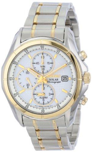 Seiko Men's SSC002 Stainless Steel Bracelet Watch
