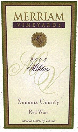 2008 Merriam Vineyards Miktos Bordeaux Blend 750 Ml