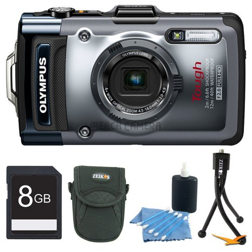 Olympus TG-1iHS 12 MP Waterproof Digital Camera