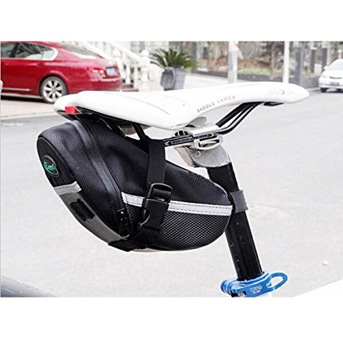 Bike Cycling Saddle Outdoor Pouch Back Seat Bag Basket Bicycle Racing Saddle Bag front-966874